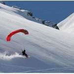 Speed Riding aux Arcs : entre ciel et neige