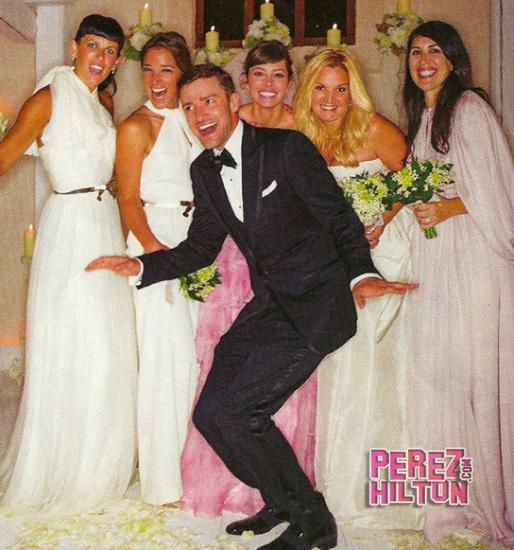 costume de mariage de Justin Timberlake