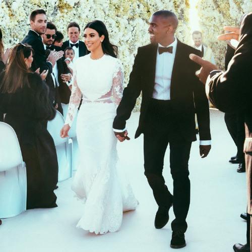 Costume de mariage de Kanye West