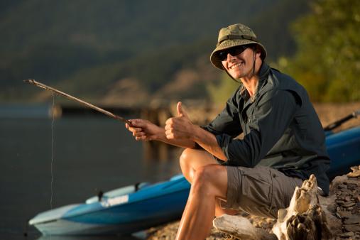 Pêche en kayak