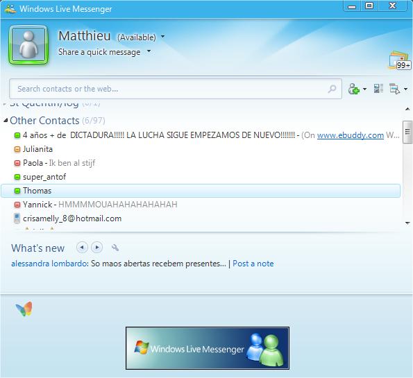 Windows Live Messenger : la fin dune époque