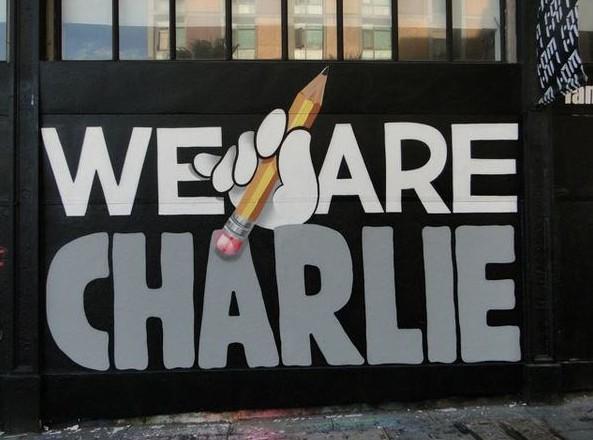 Je suis Charlie : le monde du street-art mobilisé