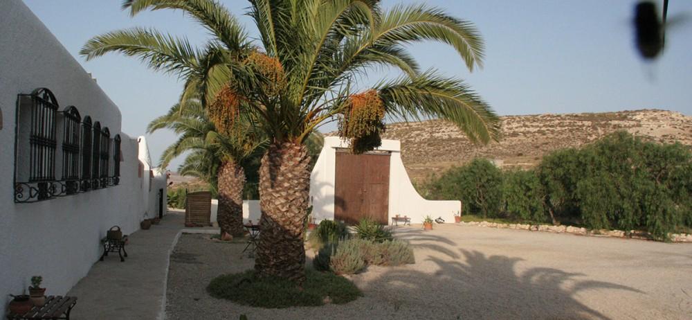Hôtel Cortijo Los Malenos à A Nijar, près d'Alméria.