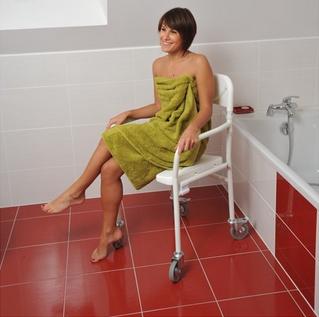 Personne mobilit r duite rampe pmr - Cabine de douche pour personne a mobilite reduite ...