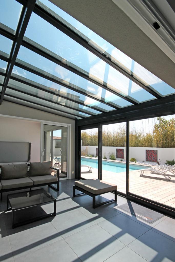 La maison écologique fait la part belle à la lumière naturelle ! Photo Satov