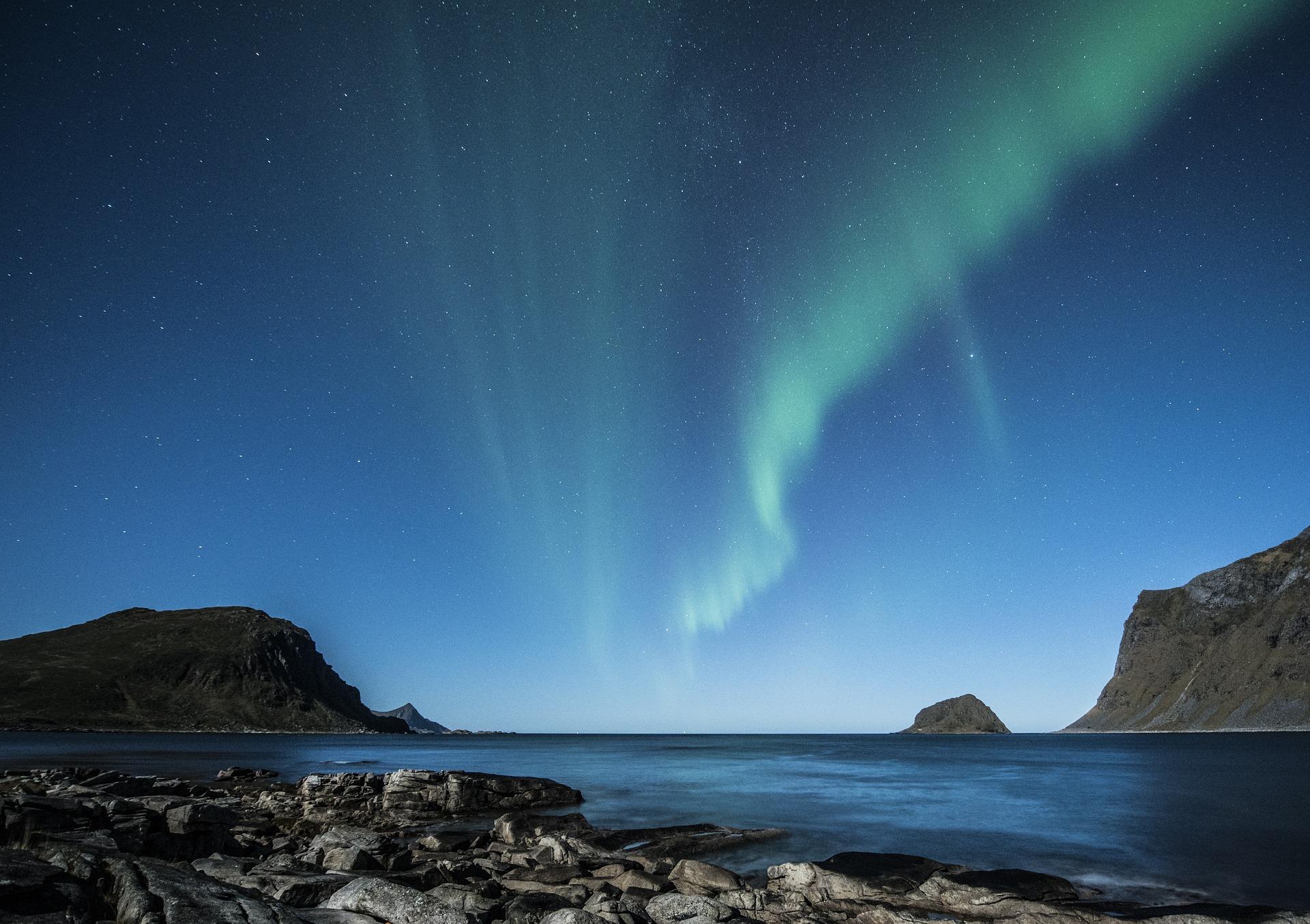 aurore boréale norvege lofoten