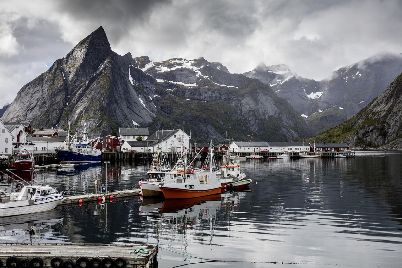 reine ile lofoten norvege