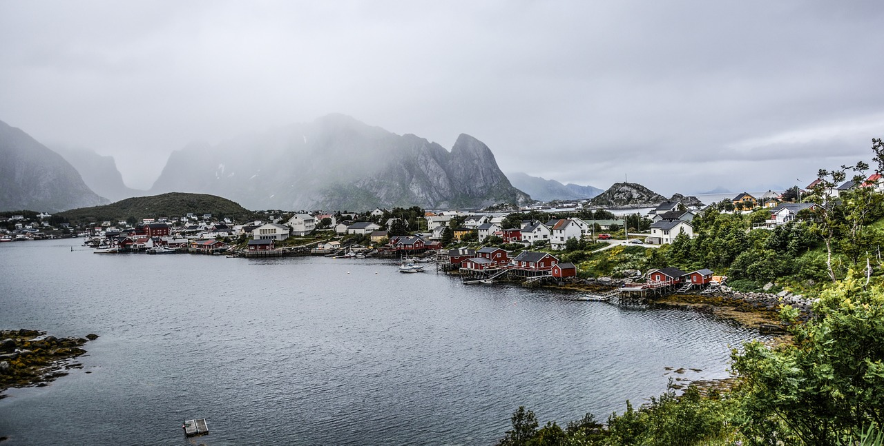 les iles lofoten norvege