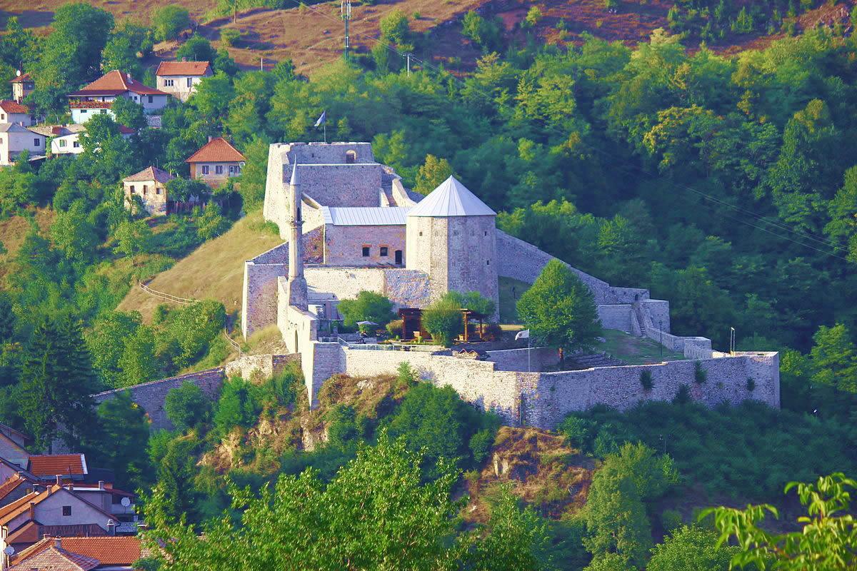 Travnik Bosnie forteresse