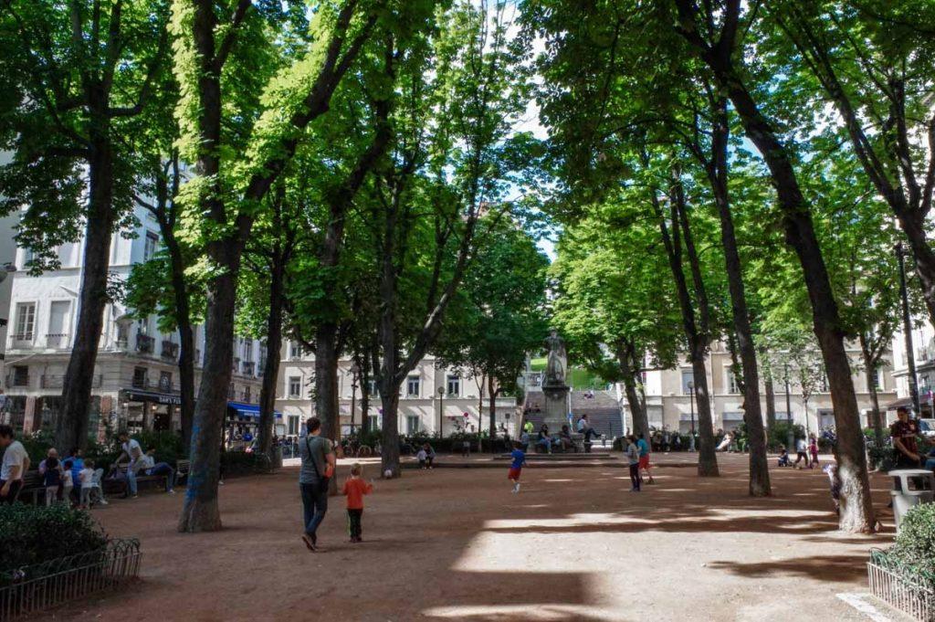 Place-Sathonay-Lyon