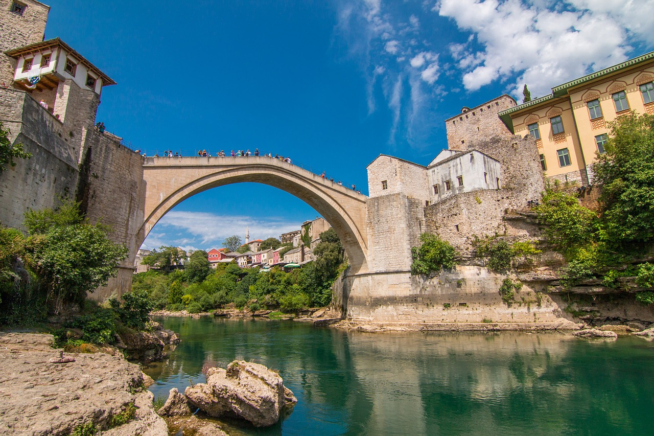 pont de mostar ottoman bosnie