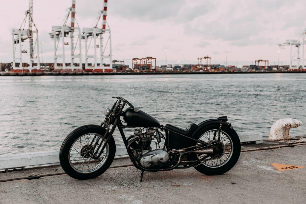 Moto de collection vintage